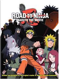 Naruto Shippuden Road to Ninja: The Movie 6 DVD Region 1 NTSC:  Amazon.co.uk: Artist Not Provided: DVD & Blu-ray