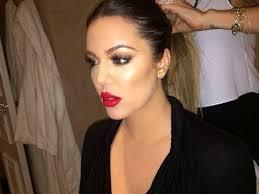 khloe kardashian makeup tutorial khloe kardashian makeup tutorial insram pic you