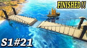Ark Bridge Design Ark New Bridge Design Is Done Ark Survival Evolved The