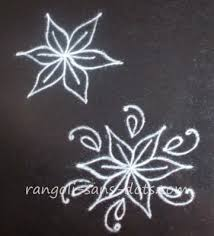 Small Picture Make simple rangoli in 2 3 or 4 steps Kolam by Sudha Balaji