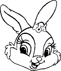 Easter Bunny Face Coloring Pages 14 Mapleton Nurseries Lively 8