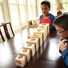 Wooden Baseball Game Toy Box Balls 87