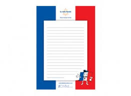 french lined writing paper template ichild french lined writing paper template