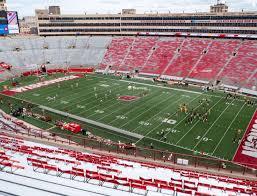 Wisconsin Badger Football Stadium Seating Chart Camp Randall Stadium Cc Seat Views Seatgeek