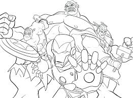 Printable Marvel Coloring Pages Marvel Colouring Es To Print