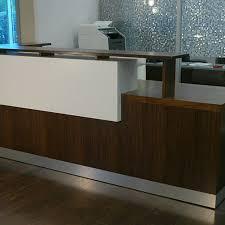 duchamp reception desk contemporary reception desk