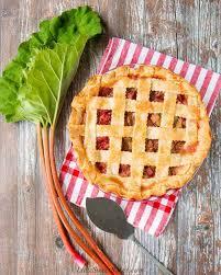best fresh rhubarb pie video little