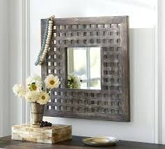 lattice wall decor decorative panels garden mirror