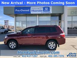 Used 2010 Toyota Highlander SE near Omaha #G1398A | Honda of Lincoln