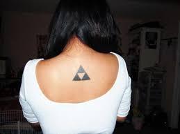 Hodnota Trojúhelníku Tetování Hluboký Význam V Malém Obrazu