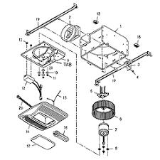 broan bath fan parts