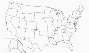 United States Map Blank With Outline Of States Save Relevant Us