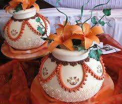 African Pots Wedding Cake Cake Studio Botswana