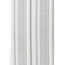 gradation ticking woven rug