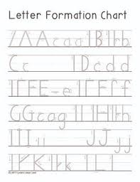 Step By Step Letter Formation Practice Printable Upper And Lower Case