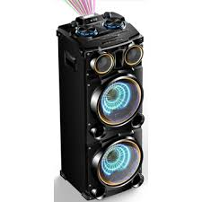 china 2017 big powered outdoor party portable bluetooth speakers with usb
