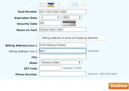 phone number for address form usability getting address line 2 right articles baymard