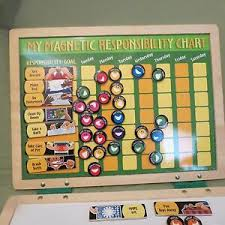 My Magnetic Responsibility Chart Details About Melissa Doug My Magnetic Responsibility Chart White Board With Magnets
