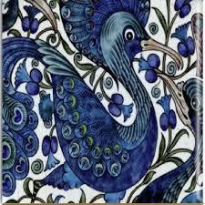 Insiswiner home ceramic decor black birds figurine garden cottage decorative 2pcs. Blue Bird Decorative Ceramic Wall Art Tile 6x6 Decorative Tiles