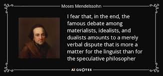 Moses Mendelssohn Quote I Fear That In The End The Famous Debate Amazing Famous Quotes About Fear