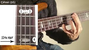 5 String Bass Chord Chart Tutorial 5 Strings Bass Chords Etude