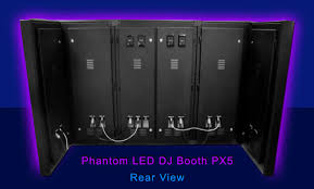 1 of the phantom led dj booth
