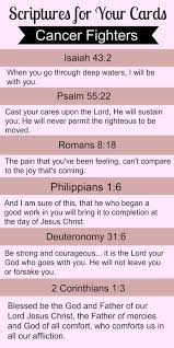 Bible Quotes For Cancer Fighters