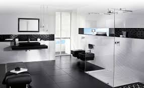 Amazing Of Gallery Of Black And White Bedroom Decorating 2297 Modern Black And White Bathrooms