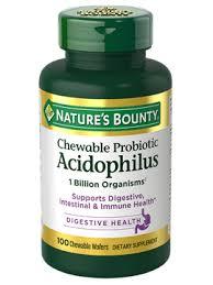 <b>Chewable Acidophilus</b> with <b>Bifidus</b>