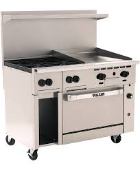 Commercial gas range Southbend 48 Inch Range gas Standard Or Convection Oven Burners 24 Inch Griddle And 12 Inch Storage Base Vulcan Equipment 48 Inch Range With Commercial Gas Oven Burners 24 Inch Griddle