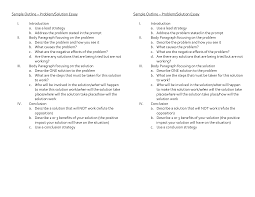 best ideas of example of a problem solution essay additional   ideas of example of a problem solution essay description