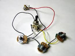 wiring harness volume tone wiring harness 2 volume 1 tone 500k toggle chrome