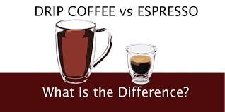 Just like drip coffee, french pressing and cold brewing. Espresso Vs Coffee What Are The Differences