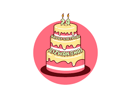 Designer Birthday Cakes In Atlanta Birthday Cake Vector By Abdul Rahman On Dribbble