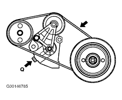 2004 hyundai xg350 serpentine belt routing and timing belt diagrams serpentine and timing belt diagrams