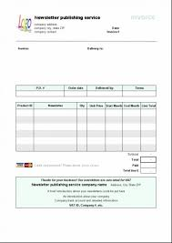 Invoice Template Libreoffice Invoice Template Libreoffice Resume