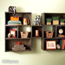 square wall mounted shelves remarkable pretentious design ideas shelving cube