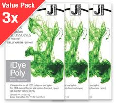 Idye Poly Color Mixing Chart Idye Poly Kelly Green 3x Value Pack
