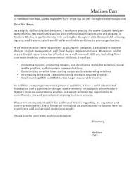 Graphic Designer Cover Letter Examples For Marketing Ideas Of Cover