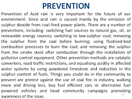 acid rain prevention essay