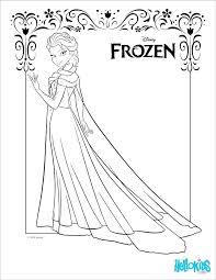 Disney Princess Coloring Pages Frozen Elsa At Getdrawingscom Free