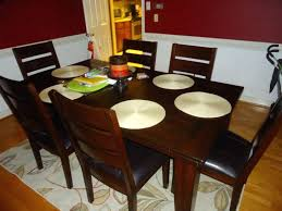 wall protector chair dining room table pads for the layer of cover varnished rectangle wood 6