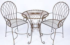 Wrought Iron Table And Chairs Diy Kitchen Table Plans