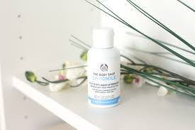 the body gentle eye make up remover the body review