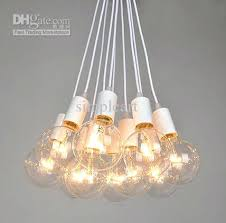 light bulb chandelier vintage style chandeliers lamp ceiling pendant great quality air package once you place your order we will via e mail to conform
