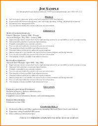 Resume Online Format Perfect Resume