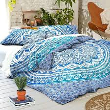 Twin Queen King Size Black White Spider Web Bedding Set Quilt ... & ... Full size of New Boho Blue Ombre Tapestry Full Duvet Cover Set Queen  Size Quilt Cover Adamdwight.com