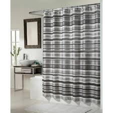 ... Charming Black And White Shower Curtains Modern Shower Curtains White  Wall Black White: ...