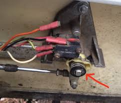 club car gas gas pedal won t engage engine is your cam yellow plastic part in the correct position this is what it should look like in neutral