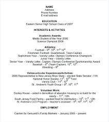 College Entrance Resume Template Amazing College Applicant Resumes Application Resume Template Download